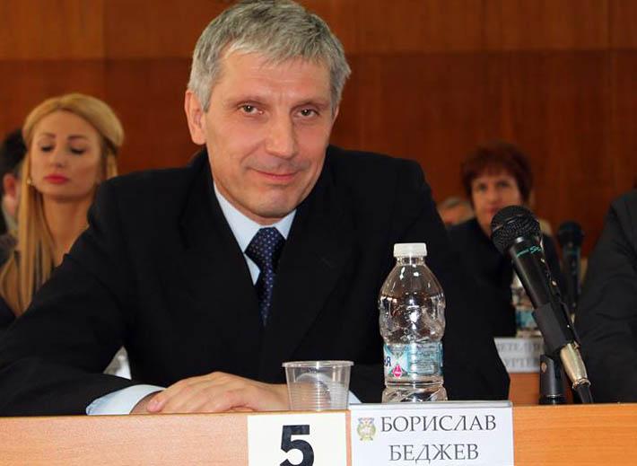 Проф. Борислав Беджев, председател на ОбС-Шумен